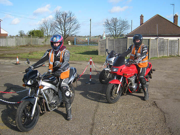 Qualified DVSA instructor assessed CBT motorcycle instructor